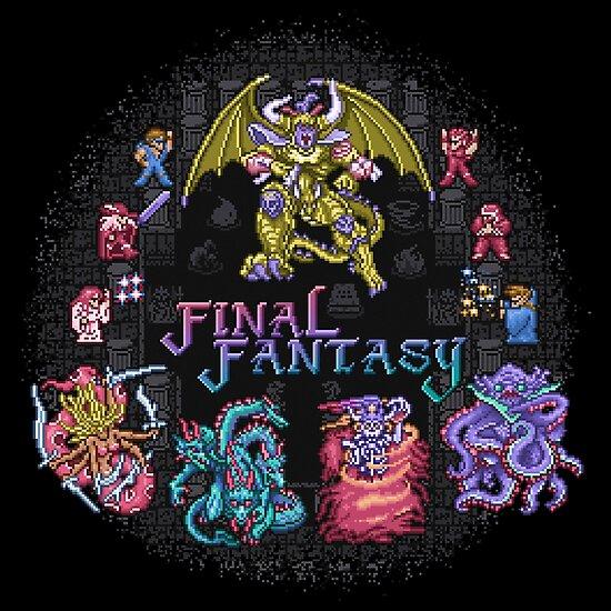 Fantasy Final by likelikes