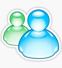 Microsoft Messenger Stickers | Redbubble