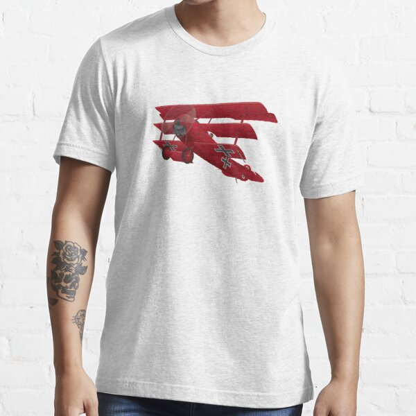 DR-1 Red Baron Triplane WWI Warbird Essential T-Shirt
