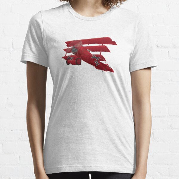DR-1 Red Baron Triplane WWI Warbird Essential T-Shirt