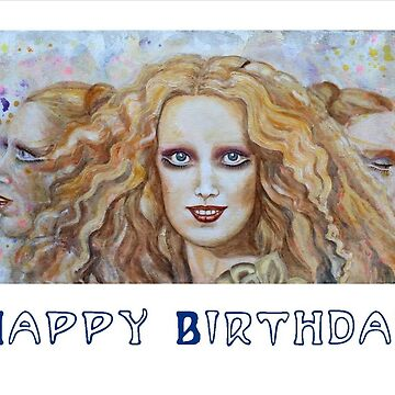 Mathilde Hekate Happy Birthday by rinekedejong