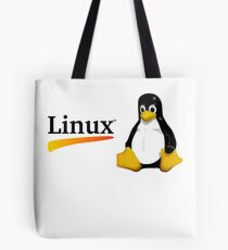 Awesome Linux - Tux Tote Bag