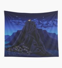 Melee Island town overview Wall Tapestry