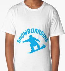Snowboarding Long T-Shirt