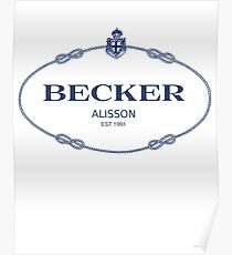 Alisson Becker Posters | Redbubble