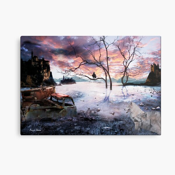 Lost World Metal Print