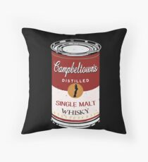 Campbeltown's Single Malt Throw Pillow