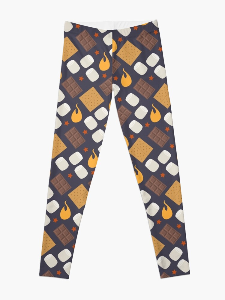 Alternate view of Smores on the Campfire Leggings