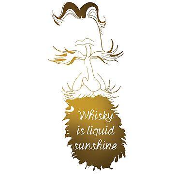Whisky is liquid sunshine by eldram