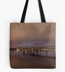 Approaching Rain At Shelley Jetty  Tote Bag