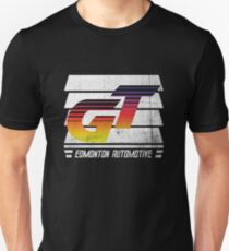 Edmonton Auto - 80's Sunrise - Slotted Up Unisex T-Shirt