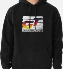 Edmonton Auto - 80's Sunrise - Slotted Up Pullover Hoodie