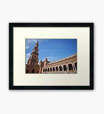 Plaza España Sevilla Framed Print