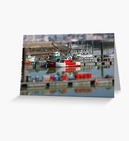 Fishing Boat - Royan Greeting Card