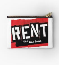 Rent the Musical Broadway Show Forget Regret Theatre Studio Pouch