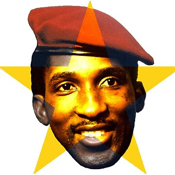 Thomas Sankara -    Burkina Faso Revolutionary by alphaville
