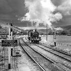 Llangollen Steam Railway Engine by StephenRphoto