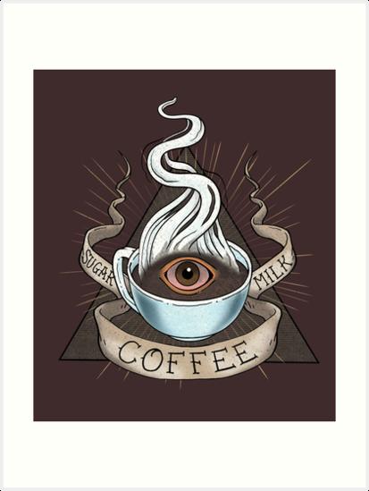 The Holy Trinity of Caffeine by Rebekie Bennington