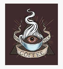 Die Heilige Dreifaltigkeit des Koffeins Fotodruck