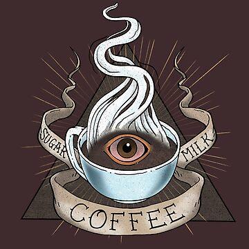 The Holy Trinity of Caffeine by rebekieb