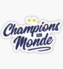 France 2 Stars - World Cup Sticker