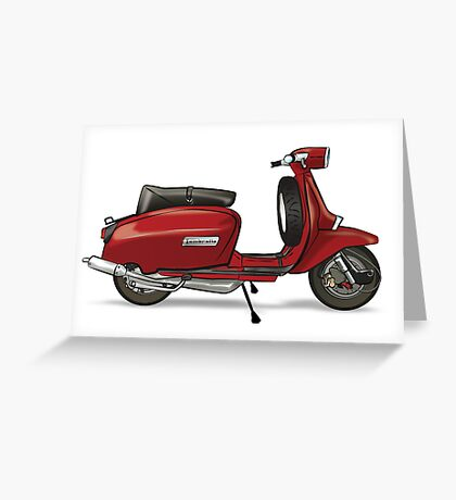 Red Lammy - By Collibosher Greeting Card