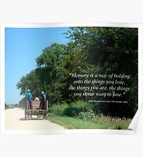 Pic Quote of the Day (Memories) Poster