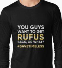 #SaveTimeless Long Sleeve T-Shirt