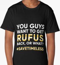 #SaveTimeless Long T-Shirt