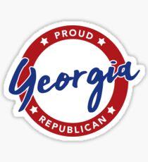 Proud Georgia Republican Sticker