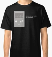 Gamers do not die. You respawn! Classic T-Shirt