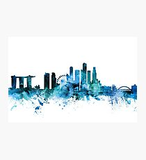 Singapore Skyline Photographic Print
