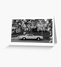 16x9 BW 001 Greeting Card