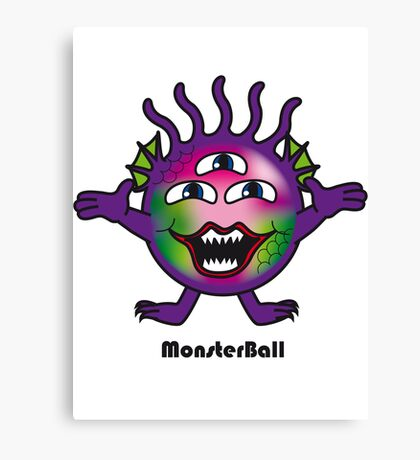 Monster Ball Canvas Print