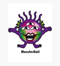Monster Ball Photographic Print