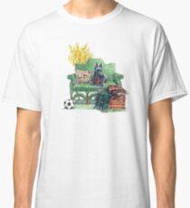 Scottie in the Garden Classic T-Shirt