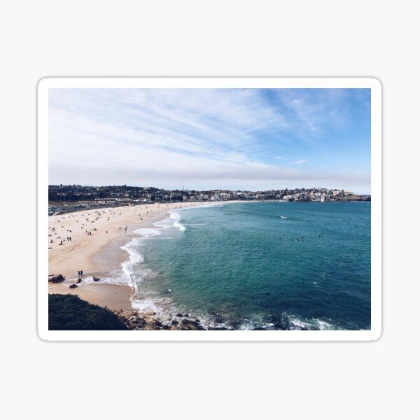 View of Bondi Beach, Sydney Sticker