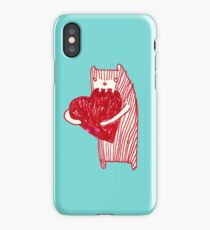 Chewy love heart  iPhone Case