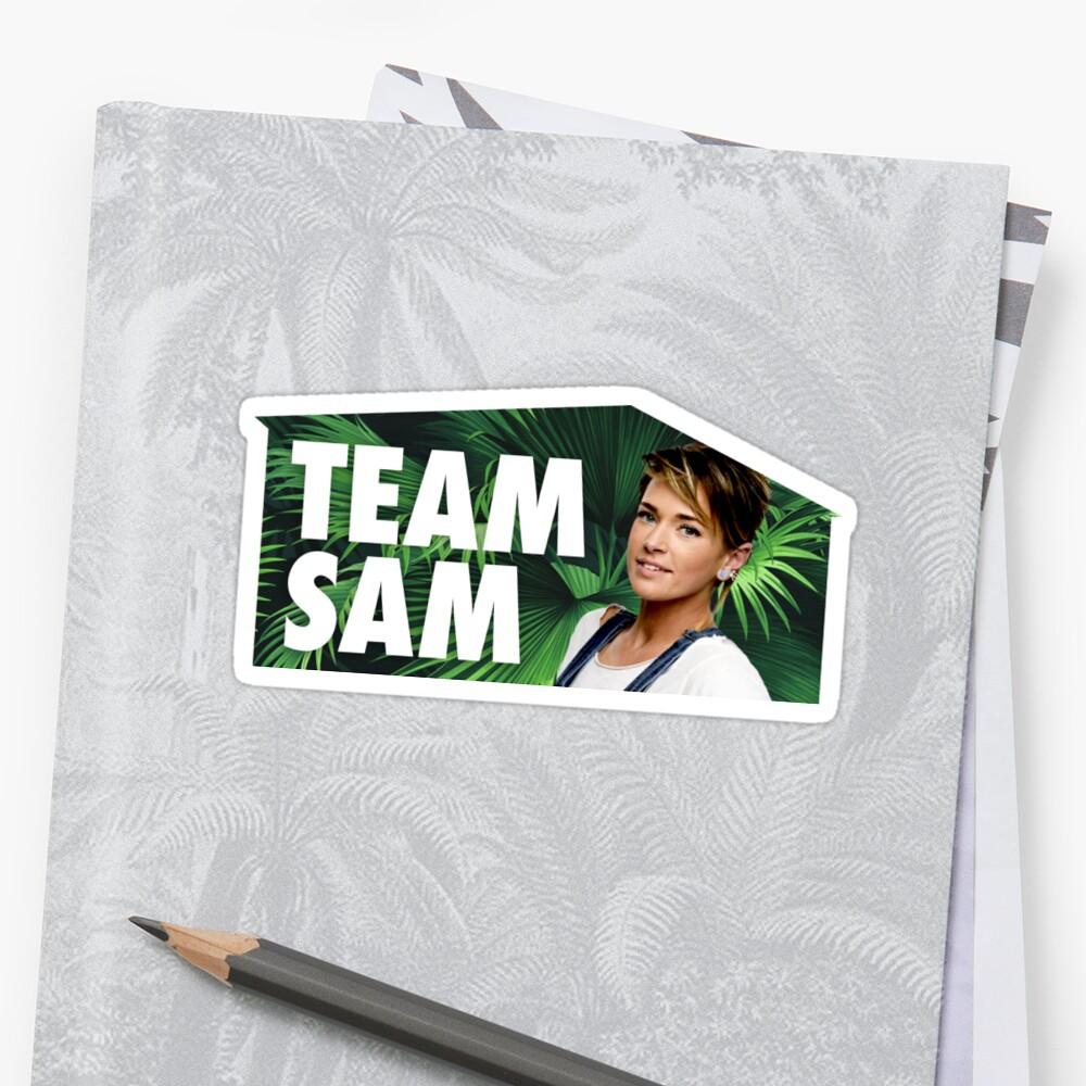 TEAM SAM Sticker