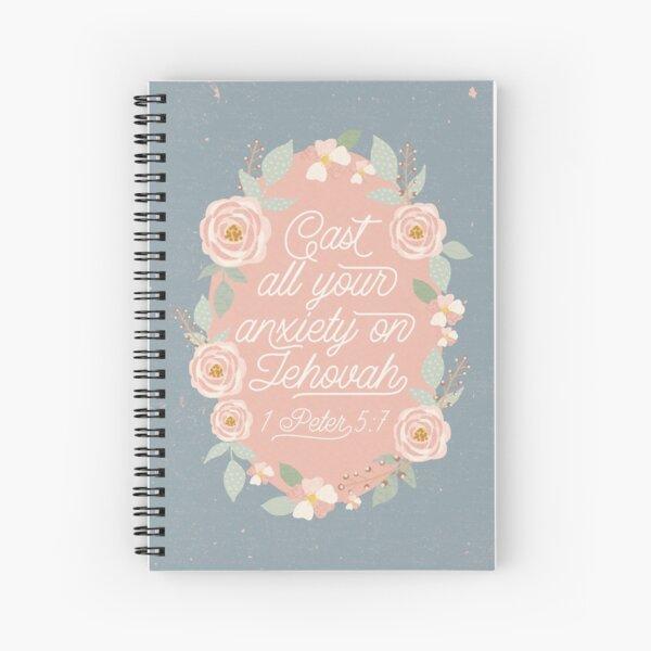 1 Peter 5:7 Spiral Notebook