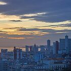Cuba. Havana. From Hotel's Room. View of Sunrise. by vadim19