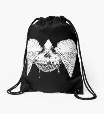 Death's Head Scream Ice Cream Drawstring Bag
