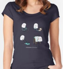 Paranormal activities Women's Fitted Scoop T-Shirt