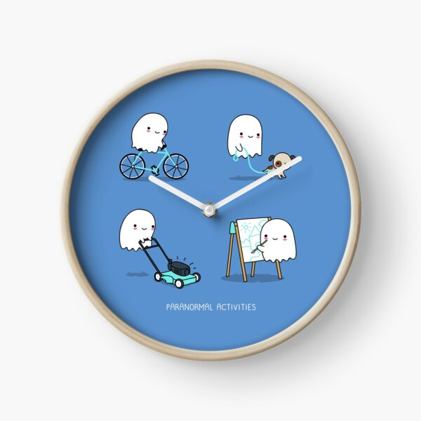 Paranormal activities Clock