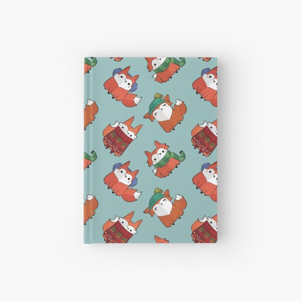 Winter Foxes Hardcover Journal