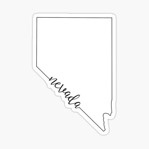 Nevada Stickers Redbubble