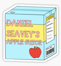 Daniel Seavey's apple juice Sticker