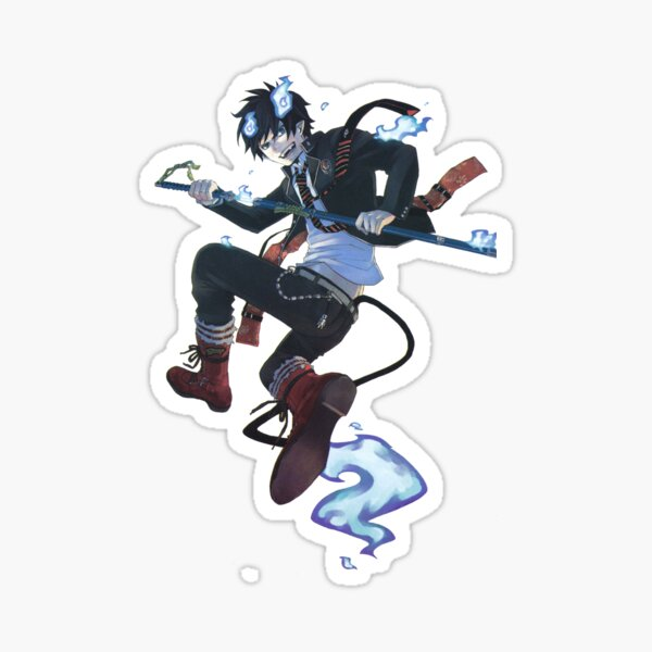 Rin Okumura Spawn  Sticker