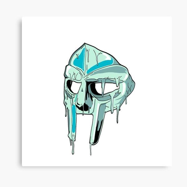 Drippy Mask Canvas Print