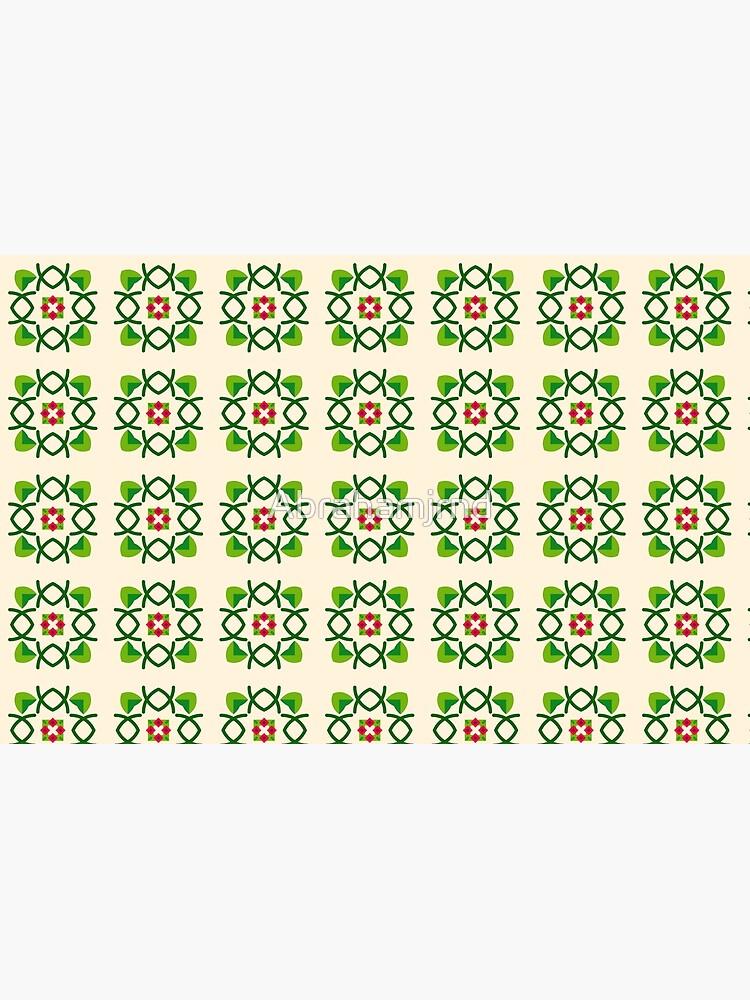 Naturfriedensliebe Romance romantico Blumengrünes nahtloses buntes Wiederholungsmuster von Abrahamjrnd